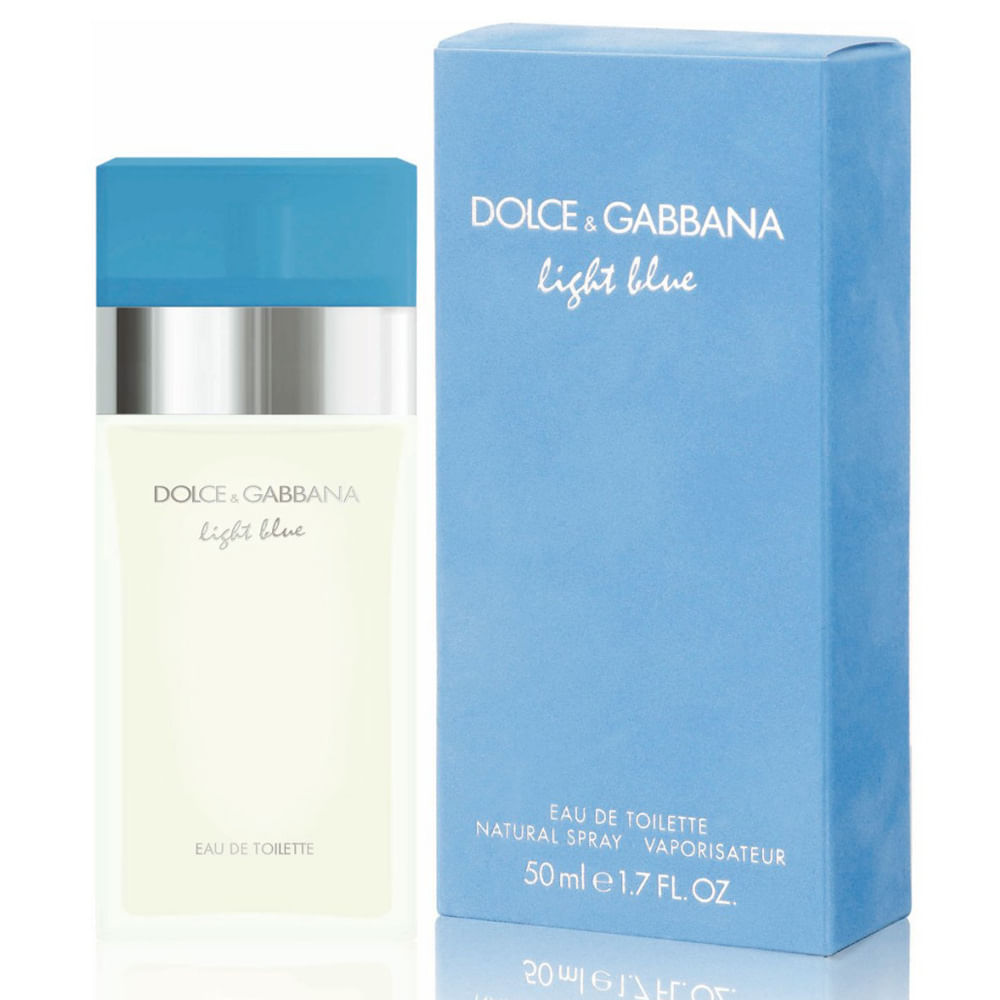 Resultado de imagem para Perfume Light Blue Dolce e Gabbana
