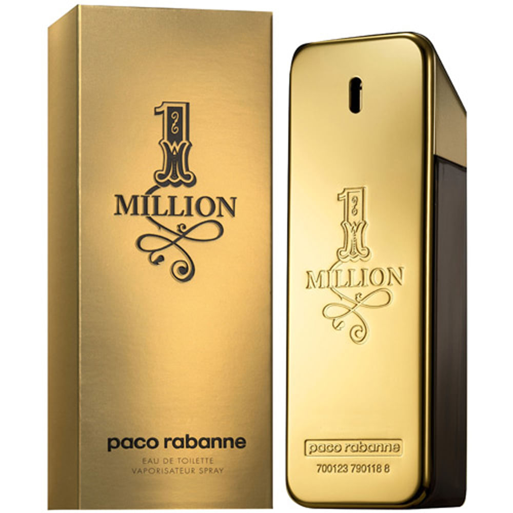 perfume perfume 1 million paco rabanne eau de toilette. Black Bedroom Furniture Sets. Home Design Ideas