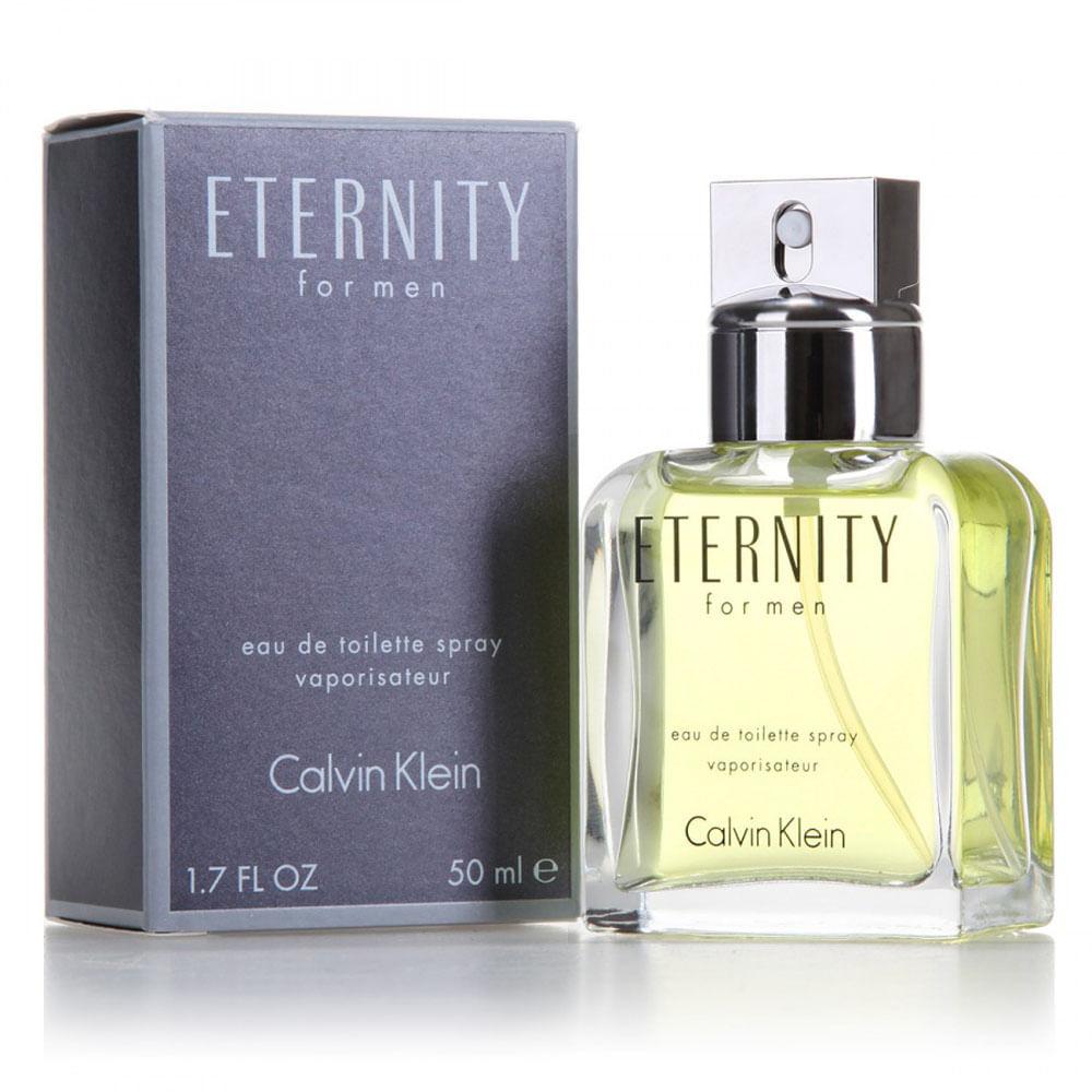 Eternity De Calvin Klein Eau De Toilette Masculino 50 ml