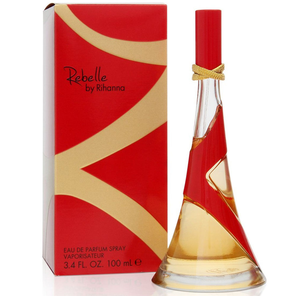 Rebelle By Rihanna Eau De Parfum Feminino 100 ml
