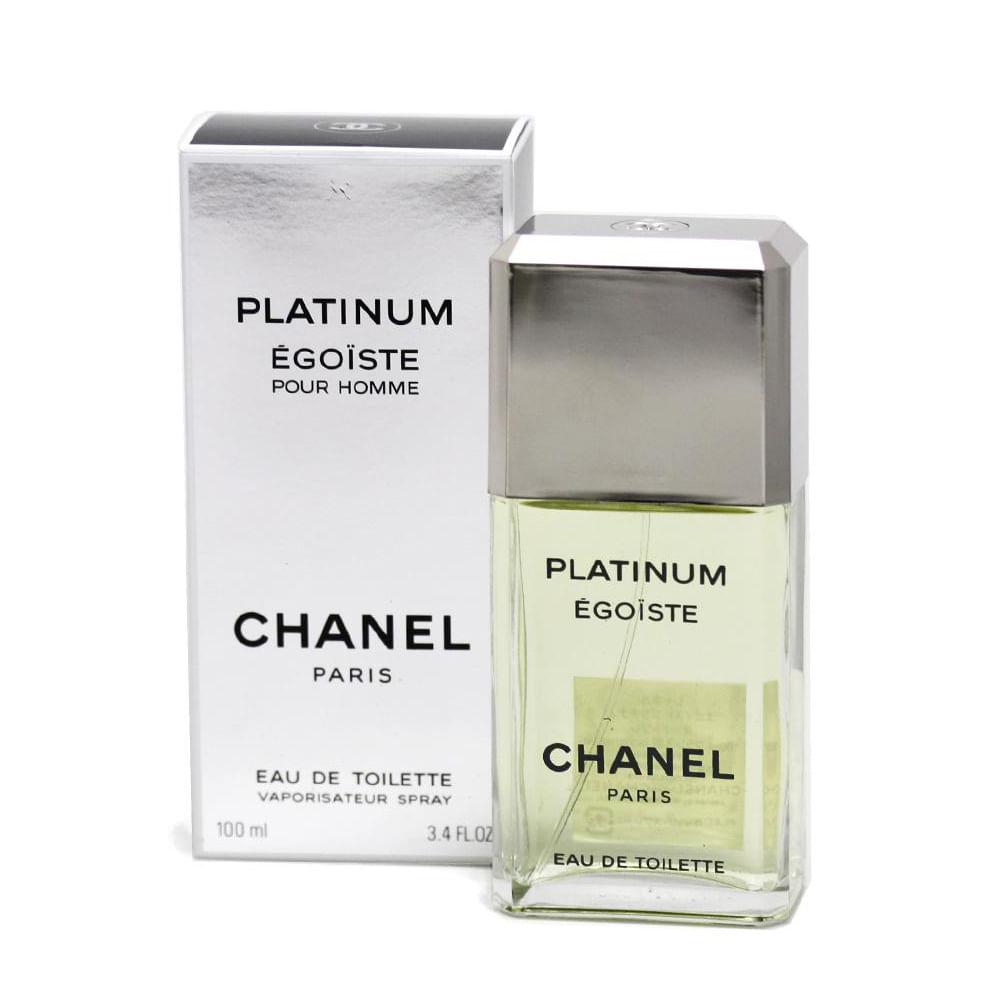 Egoiste Platinum Da Chanel Eau De Toilette Masculino 100 ml
