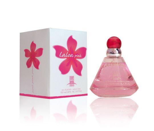 Perfume Laloa Pink Via Paris Eau de Toilette Feminino 100 Ml