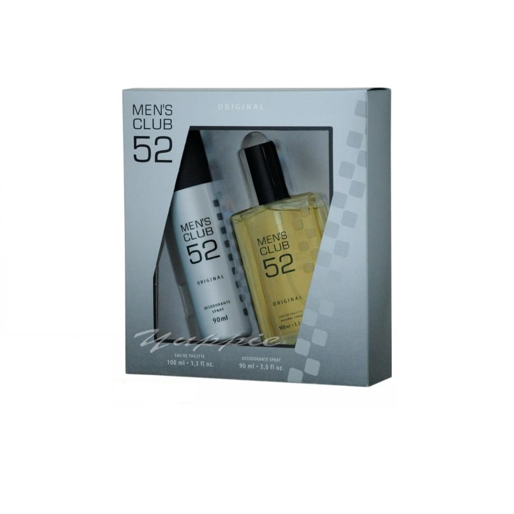 Kit Men ´ S Club 52 Eau De Toilette Masculino 1 unid.