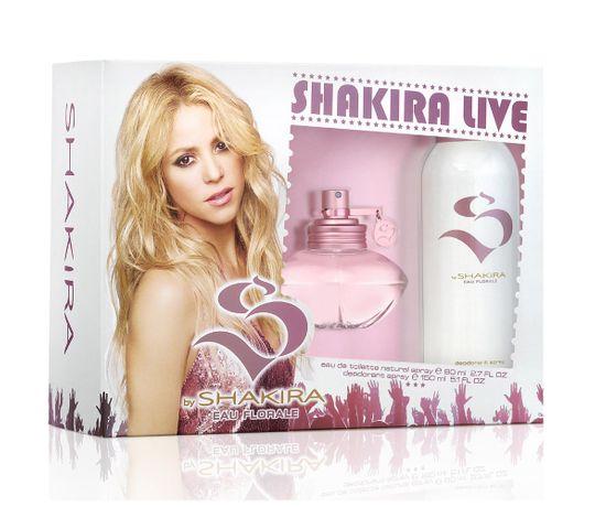 Estojo S By Shakira Eau Florale Shakira Eau de Toilette Feminino 50 Ml