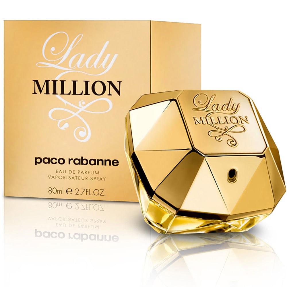 c2d8ff86f9a29 Perfume Lady Million Paco Rabanne Feminino Eau de Parfum - AZPerfumes