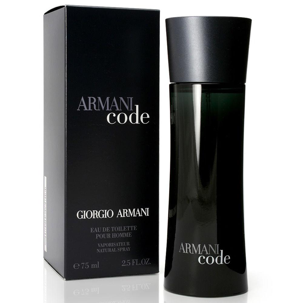 22eb815d779b2 Perfume Armani Code De Giorgio Armani Masculino Eau de Toilette ...