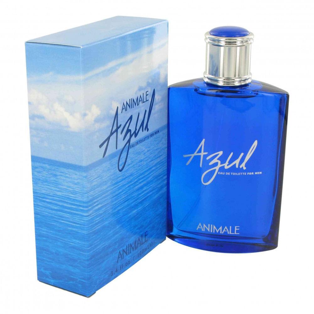 perfume animale azul masculino eau de toilette azperfumes