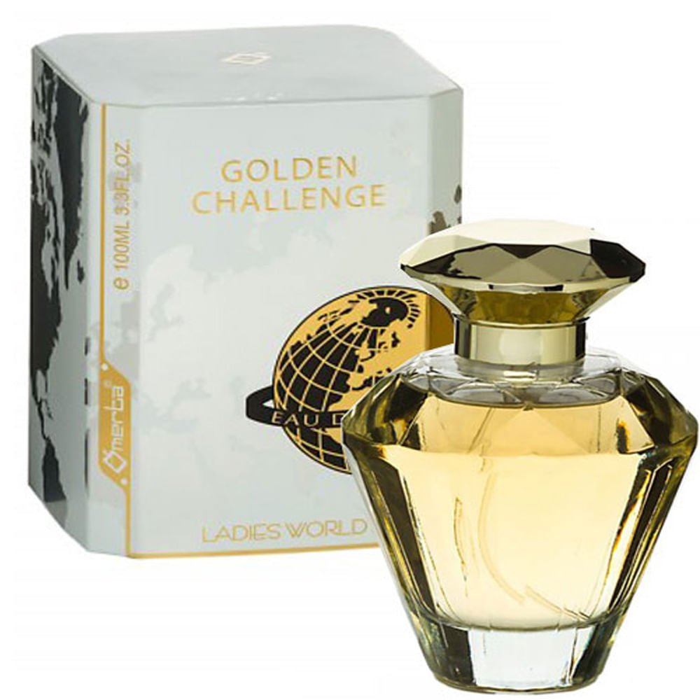 Perfume Golden Challenge Ladies World Feminino Eau de Parfum ... 971c437539