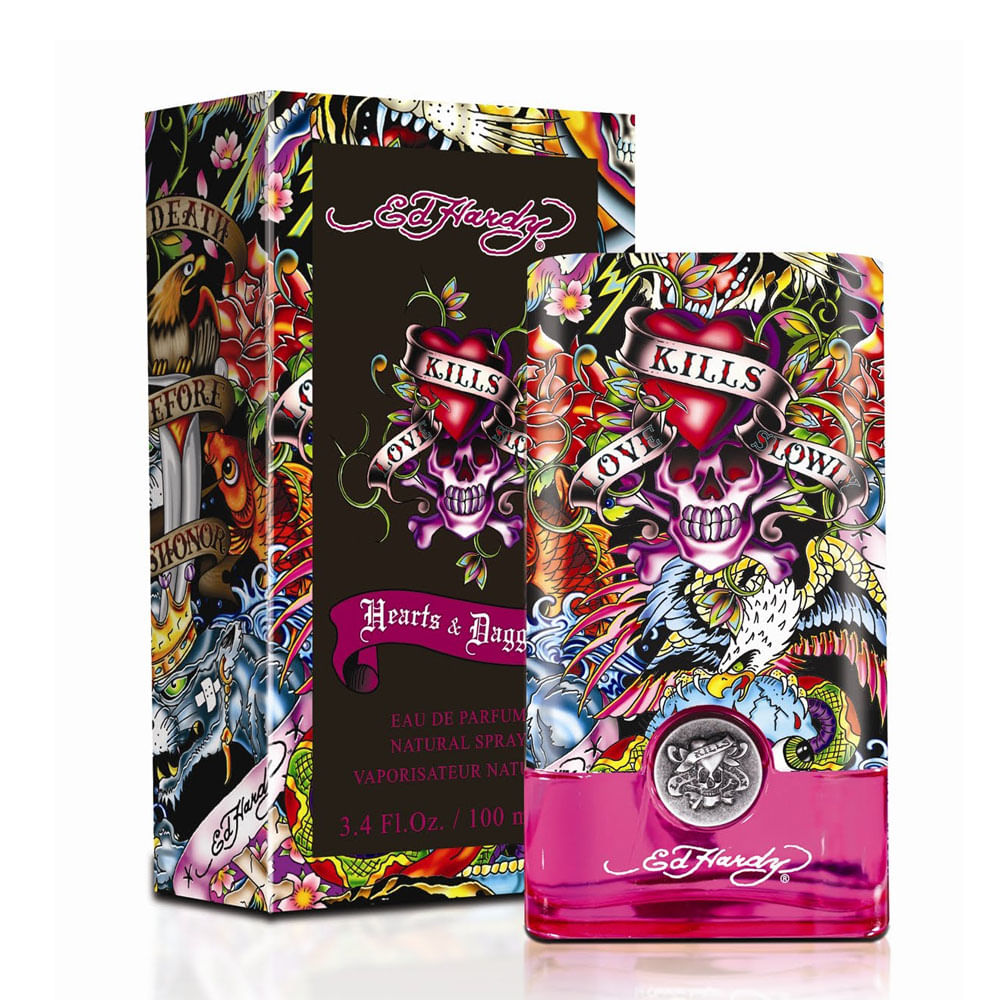Hearts And Daggers By Ed Hardy For Women: Perfume Ed Hardy Hearts Daggers Women