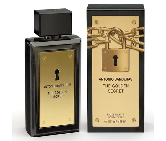 The Golden Secret By Antonio Banderas Eau De Toilette Masculino - 100 ml 3c1cbb9ca1
