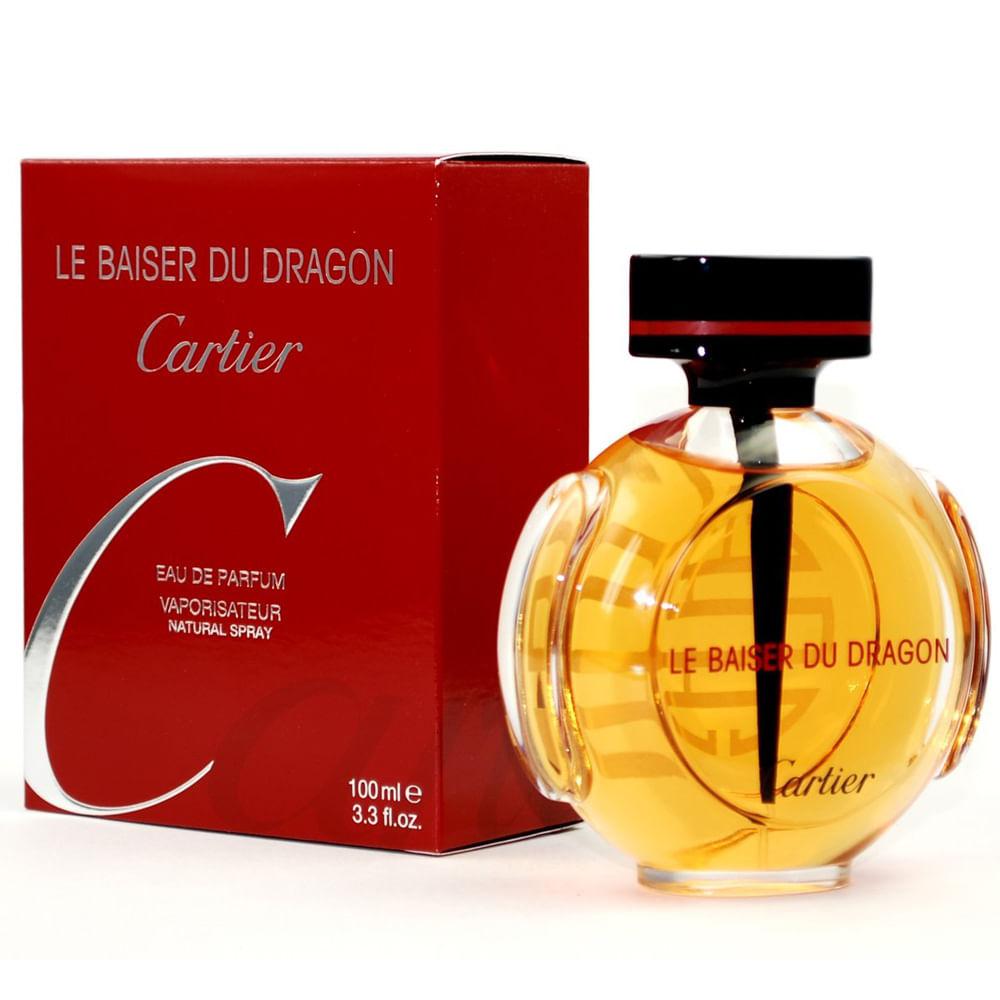 c04a25df3f Le Baiser Du Dragon De Cartier Eau De Parfum Feminino - AZPerfumes