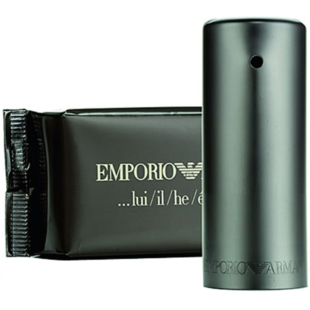 b0862cf1497 Emporio Armani He Eau De Toilette Masculino - 100 ml. Giorgio Armani
