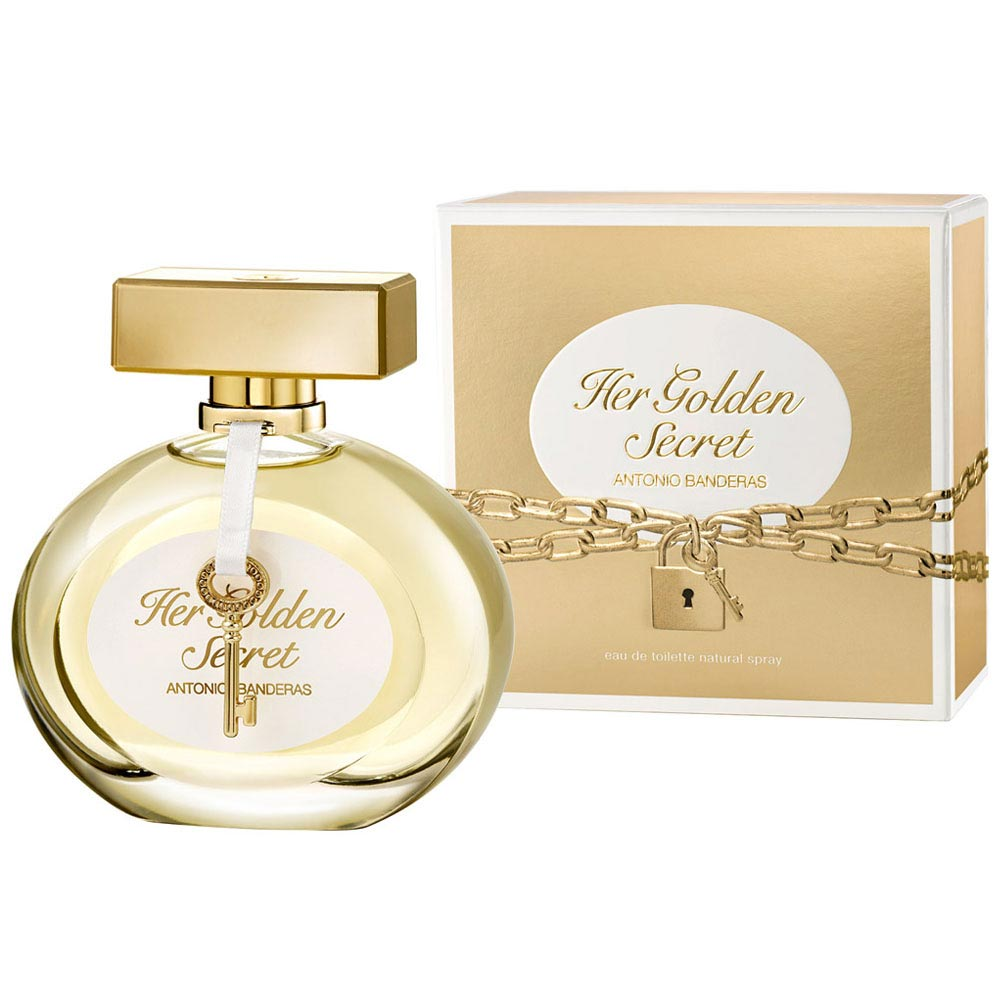 Perfume Her Golden Secret By Antonio Banderas Feminino Eau de ... 52d093ec35