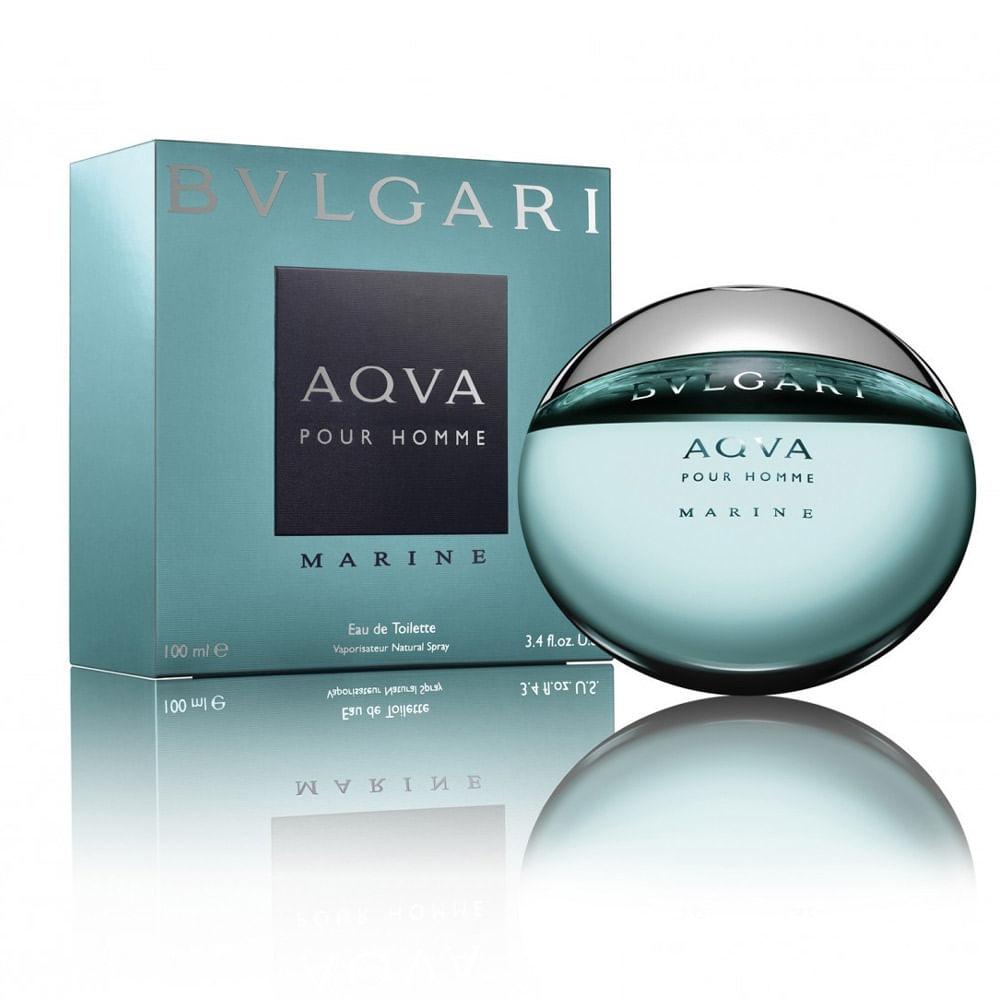 1dd51ae0c9331 Perfume Bvlgari Aqva Marine De Bvlgari Masculino Eau de Toilette ...