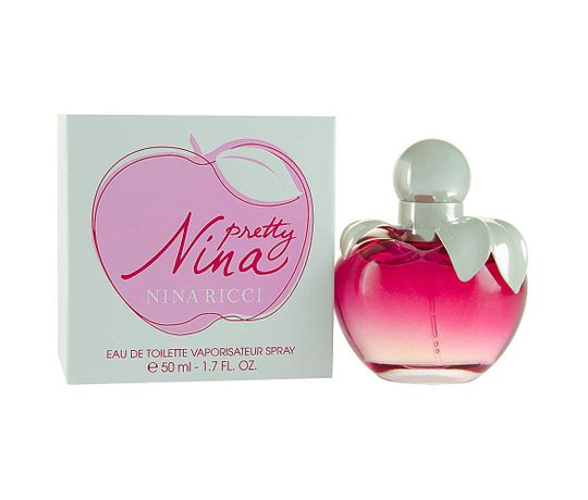 Perfume Pretty Nina Nina Ricci Eau de Toilette Feminino 50 Ml