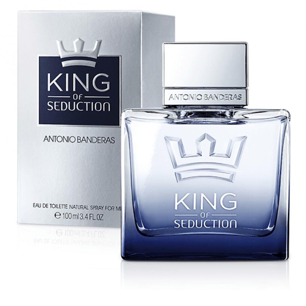 a73b18e28 Perfume King of Seduction Antonio Banderas Masculino Eau de Toilette ...