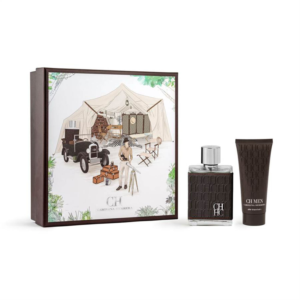 c96a2d8f522c5 Kit Perfume Carolina Herrera CH Men Eau de Toilette + After Shave ...