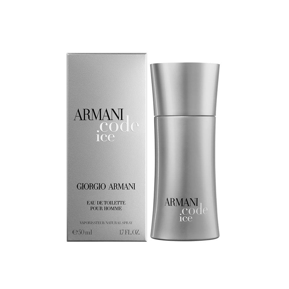 b9b2340ec4b18 Perfume Armani Code Ice de Giorgio Armani Masculino Eau de Toilette ...
