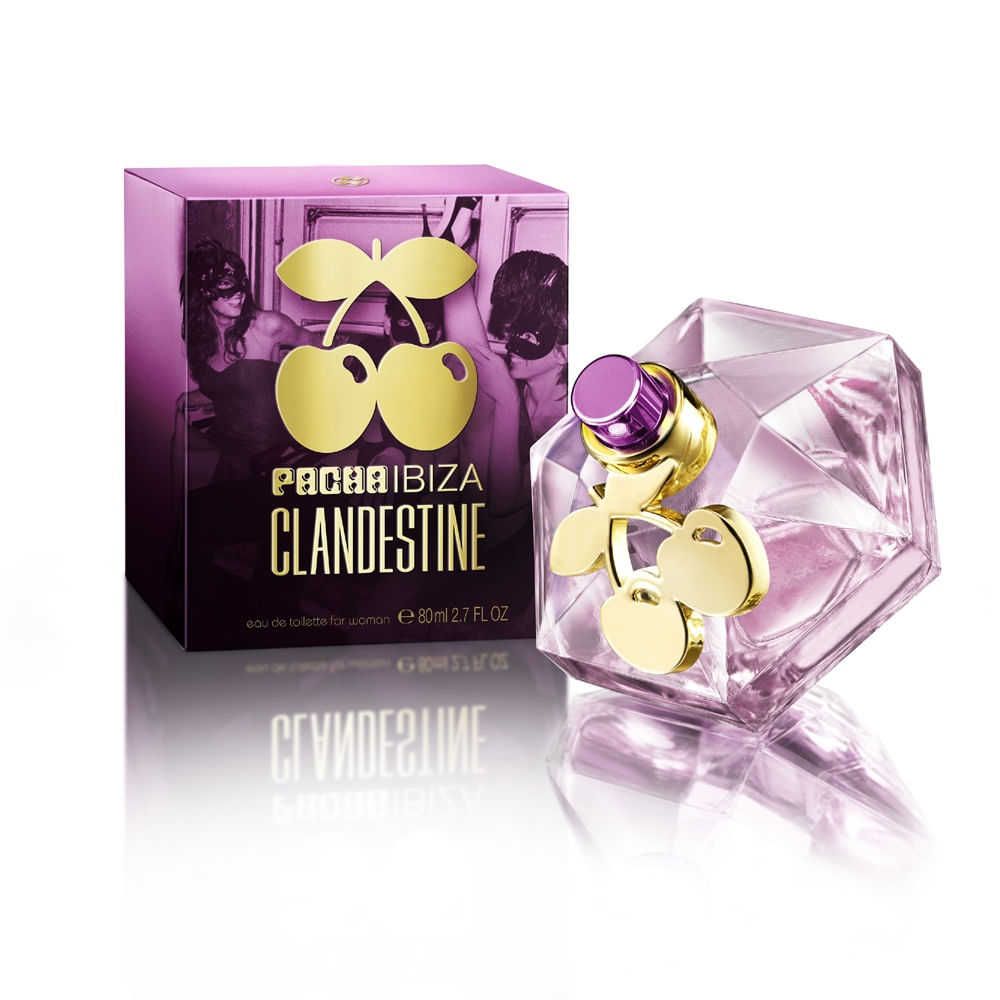 fd7376a4a Perfume Pacha Ibiza Clandestine Feminino Eau de Toilette - AZPerfumes