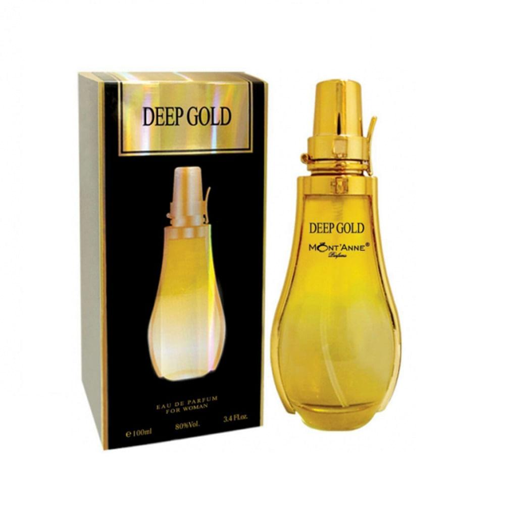 Perfume Deep Gold For Women Mont anne Feminino Eau de Parfum ... 4a35ef1f3b