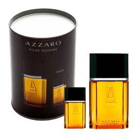 Kit-Azzaro-Pour-Homme-Eau-de-Toilette-Masculino-50ml---Miniatura-Azzaro-15ml-Lata