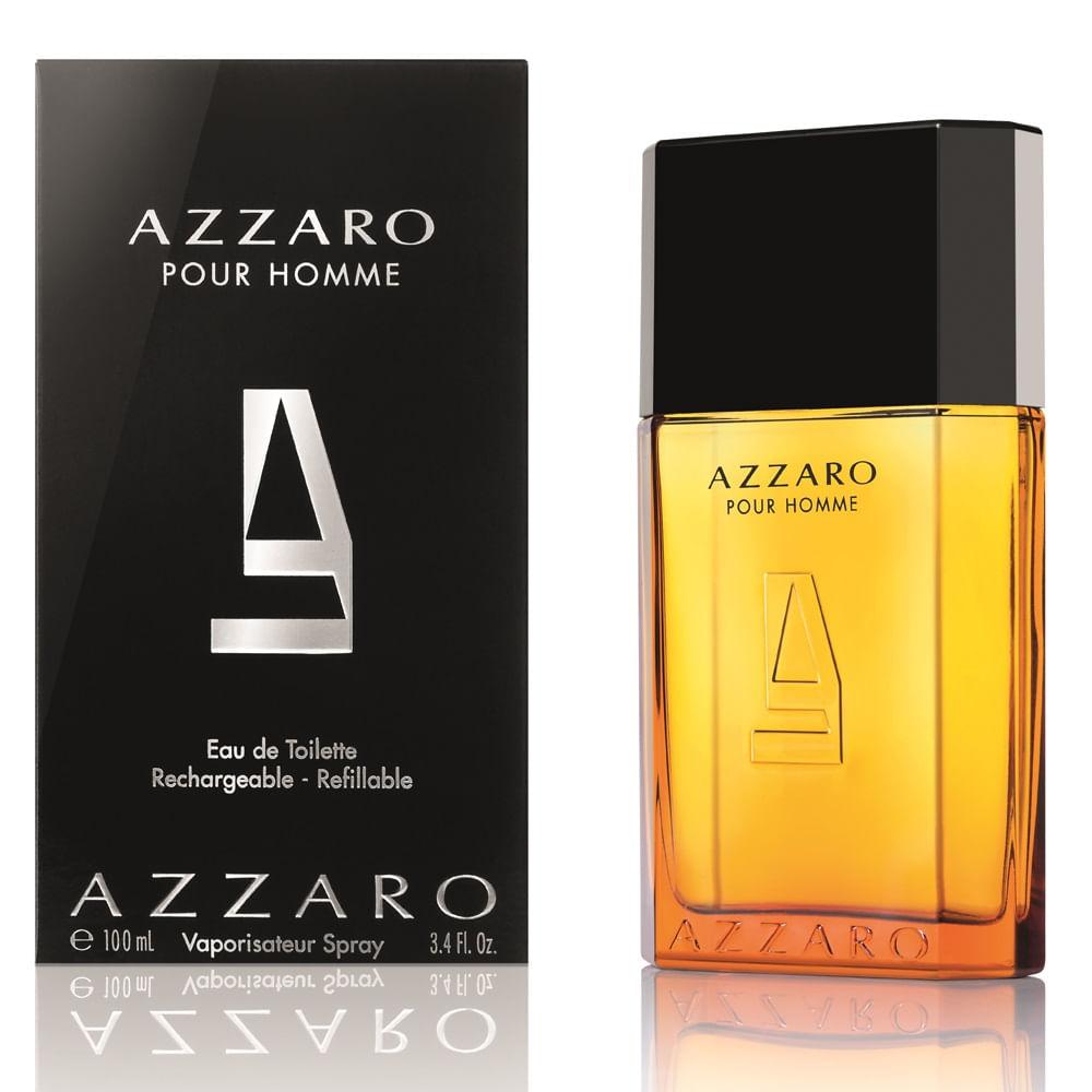 54ad748a7b Perfume Azzaro Pour Homme Masculino Eau de Toilette - AZPerfumes