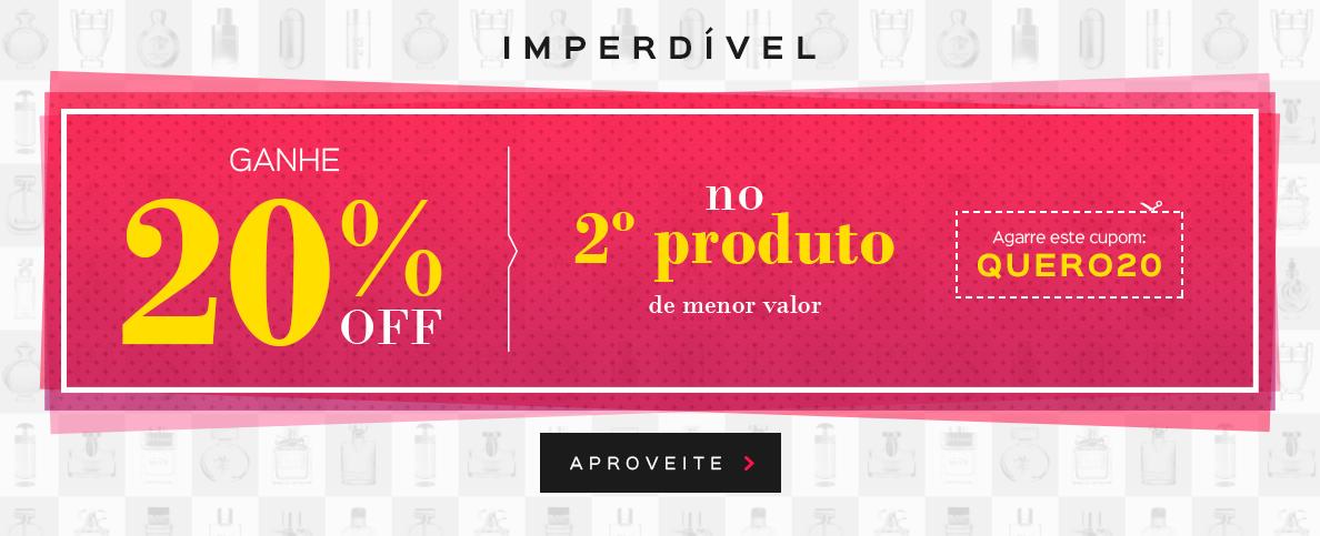 20 % Off No Segundo Produto (on)