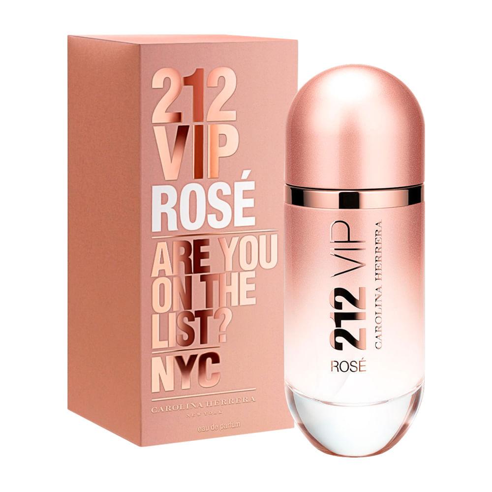 Perfume 212 Vip Rose De Carolina Herrera Feminino Eau de Parfum ... 6e4f59e1788
