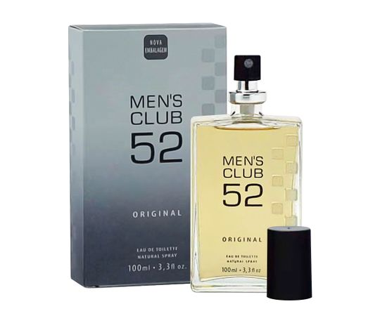 Miniatura Original Mens Club 52 Eau de Toilette Masculino 100 Ml