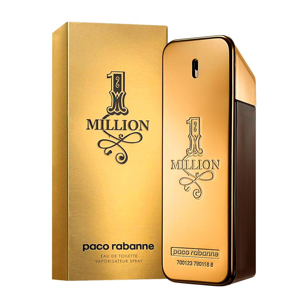 0bca448c08d 1 Million De Paco Rabanne Eau De Toilette Masculino