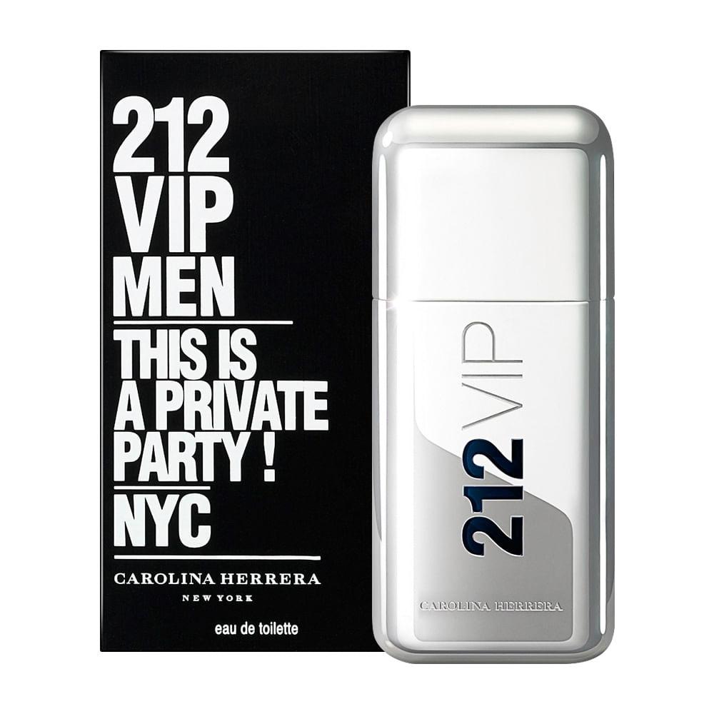 Perfume 212 Vip Men By Carolina Herrera Masculino Eau de Toilette ... aa3819c54b