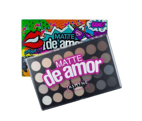 Paleta-De-Sombras-Matte-De-Amor-28-Cores-Jasmyne-caixa