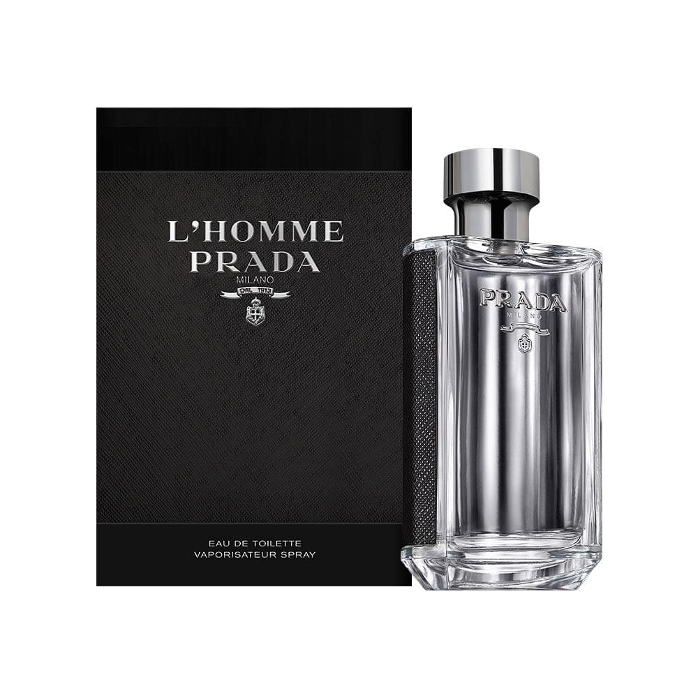 Prada De Eau L'homme Perfume Toilette Masculino ARj4LSqc35