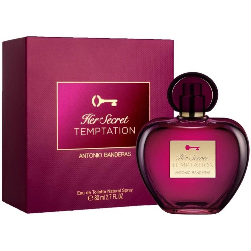 e70946ad7 Her Secret Temptation Antonio Banderas Perfume Feminino - Eau de Toilette -  50 ml