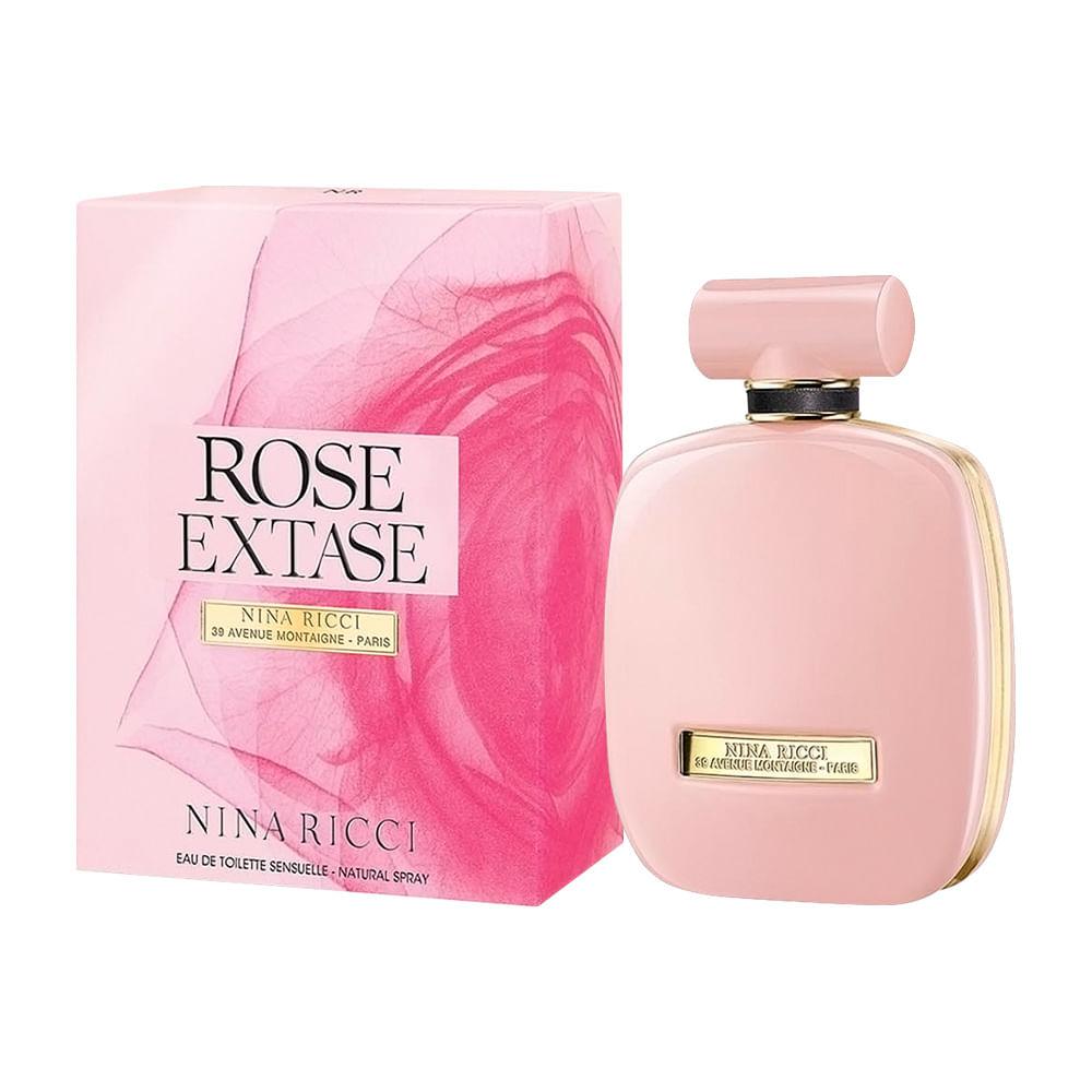 2c329828f34 Rose Extase Nina Ricci Perfume Feminino - Eau de Toilette - AZPerfumes