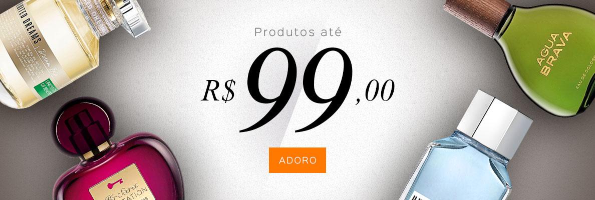 17/10 - Produtos Até R$99 (on)
