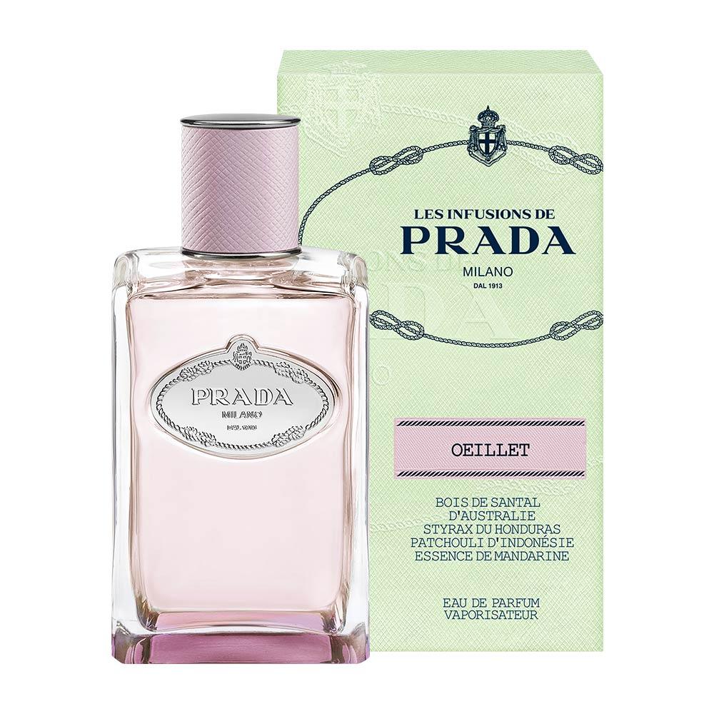 cfb21a009 Les Infusions de Prada Milano OEILLET de Prada Unisex Eau de Parfum - 100 ml