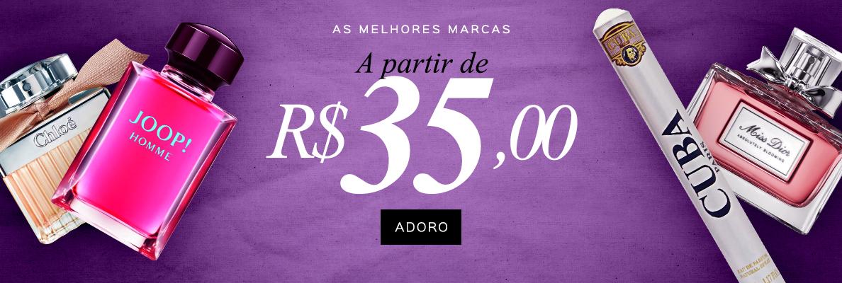 21/02 - Partir de R$ 35,00 (on)
