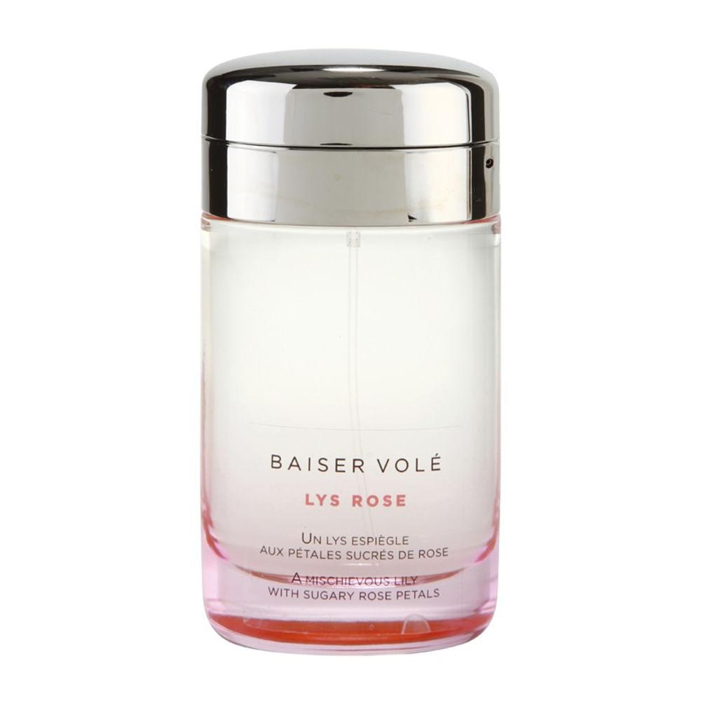 12711991202 Cartier Baiser Vole Lys Rose Eau De Toilette Feminino - AZPerfumes