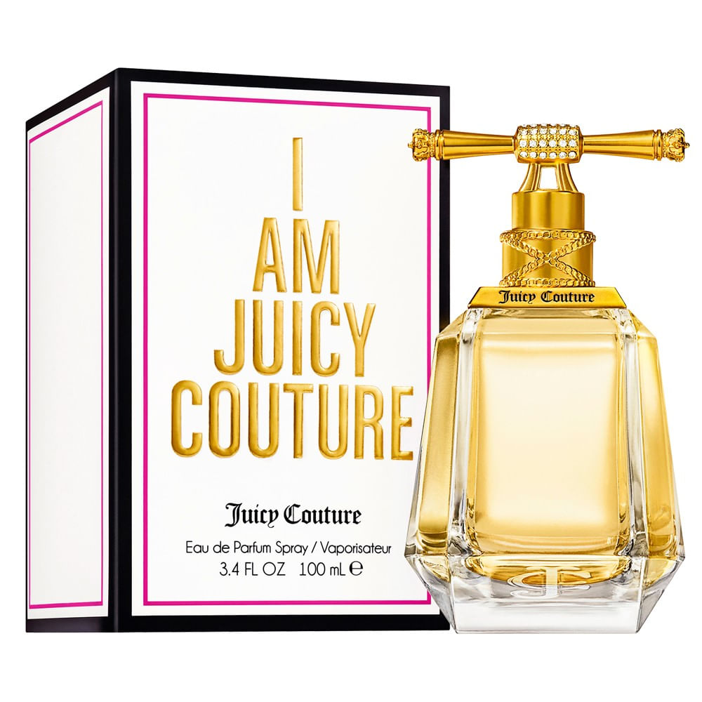 I Am Juicy Couture Eau De Parfum Feminino - AZPerfumes 5287601319be