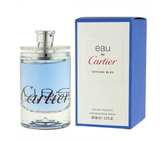 7305a7e911 Eau De Cartier Vetiver Bleu Eau De Toilette Masculino - AZPerfumes