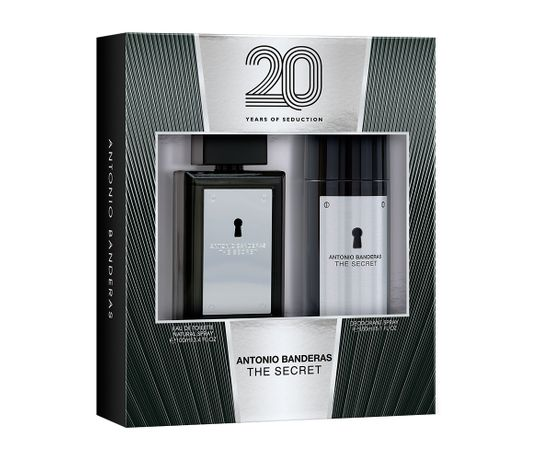 Kit-The-Secret-De-Antonio-Banderas-Eau-De-Toilette-Masculino