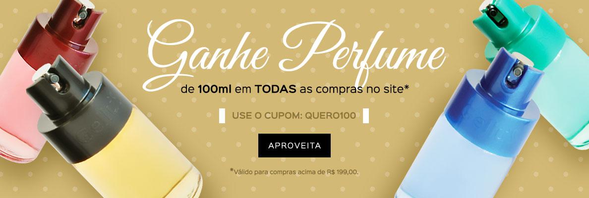 20/04 - Ganhe Perfume de 100ml (on)