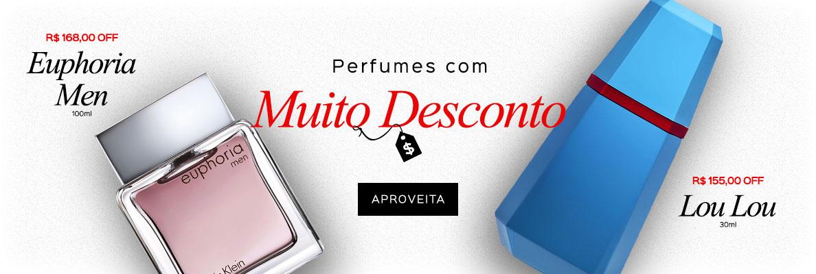 23/04 - Perfumes com MUITO DESCONTO (on)