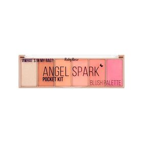 Paleta-De-Blush-E-Iluminador-Angel-Spark-De-Ruby-Rose--HB-6108-