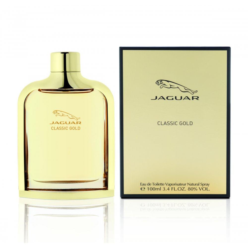 jaguar classic gold de eau de toilette masculino azperfumes. Black Bedroom Furniture Sets. Home Design Ideas