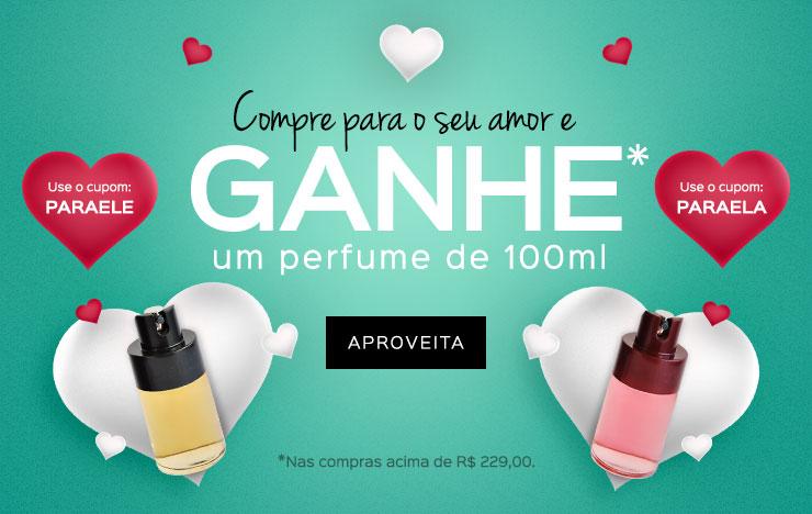 25/05 - Compre e ganhe um perfume de 100ml (on)