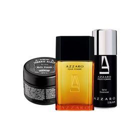 Kit-Azzaro--Perfumes-50ml---Desodorante---Pomada-Modeladora-Para-Cabelos-