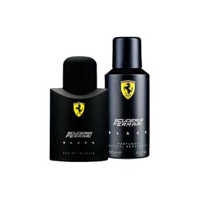 Kit-Ferrari-Black-Perfumes-125ml---Desodorante