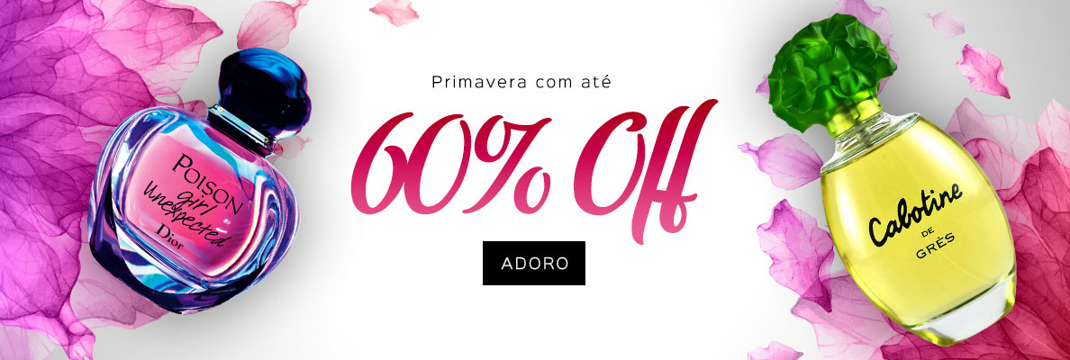 17/09 - Primavera com até 60% OFF (on)